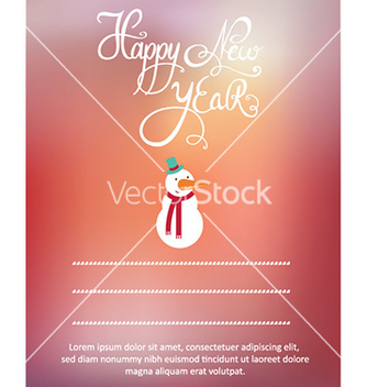 Free happy new year vector - vector gratuit #225555
