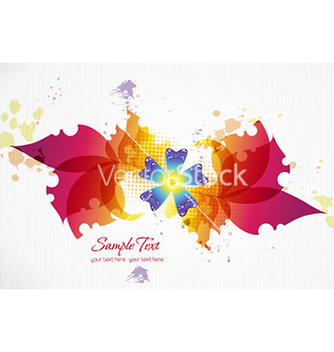 Free spring floral background vector - Free vector #225615