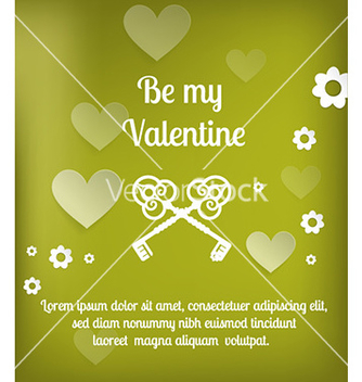 Free happy valentines day vector - Free vector #225985