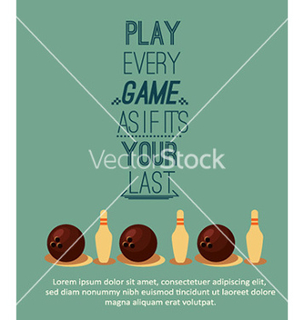 Free with sport elements and typography vector - Free vector #226675