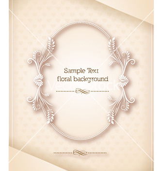 Free floral frame vector - Free vector #226815