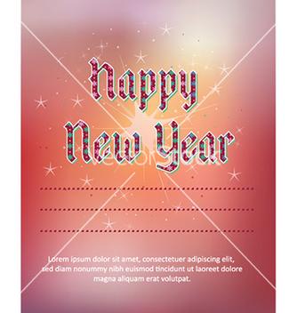 Free happy new year vector - Kostenloses vector #226835