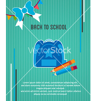 Free back to school vector - Kostenloses vector #226875