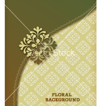 Free floral background vector - Free vector #227215