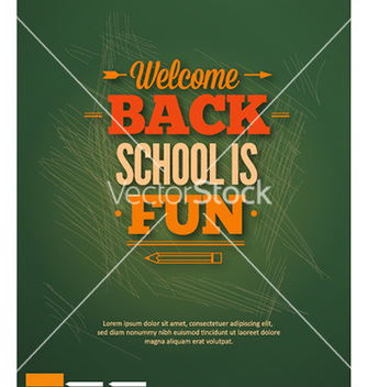 Free back to school vector - Kostenloses vector #227315