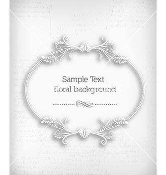 Free floral frame vector - Kostenloses vector #227455