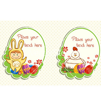 Free easter frames vector - Free vector #227635