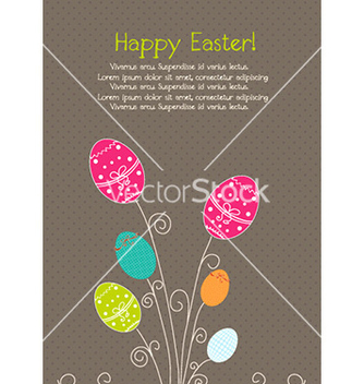 Free easter background vector - Kostenloses vector #227835