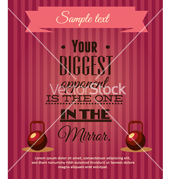 Free with sport elements and typography vector - Free vector #228035