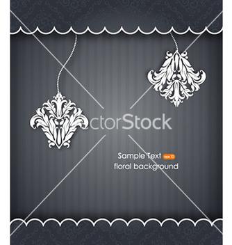 Free floral frame vector - Kostenloses vector #228205