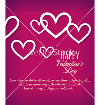 Free happy valentines day vector - vector gratuit #228345