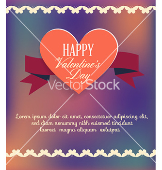 Free happy valentines day vector - Free vector #228475