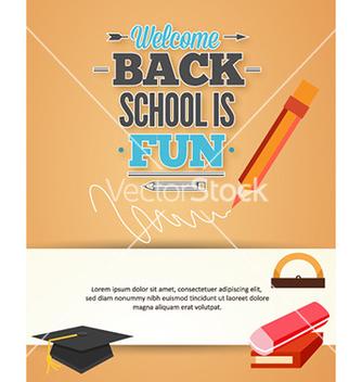 Free back to school vector - Kostenloses vector #228515