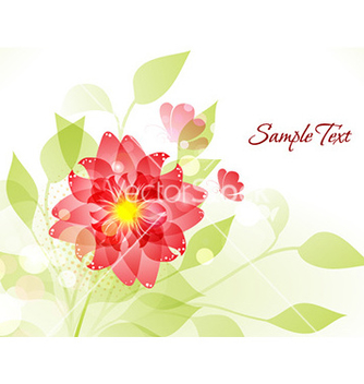 Free spring floral background vector - Free vector #228575