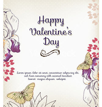 Free happy valentines day vector - vector gratuit #228675