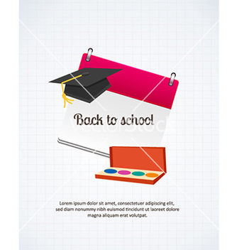 Free back to school vector - Kostenloses vector #228715
