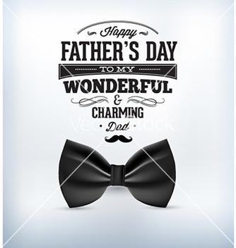 Free fathers day vector - Free vector #228875