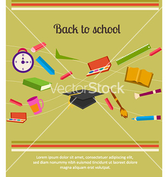 Free back to school vector - бесплатный vector #229025