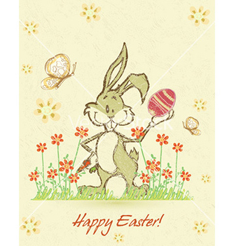 Free easter background vector - Free vector #229235