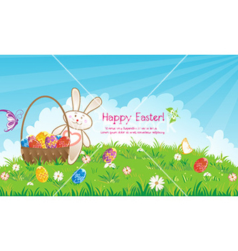 Free easter background vector - Kostenloses vector #229935
