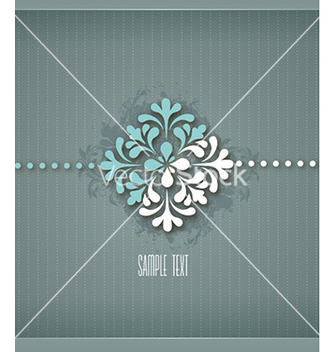Free floral background vector - Free vector #229955