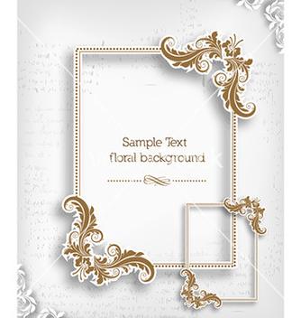 Free floral frame vector - Kostenloses vector #230165