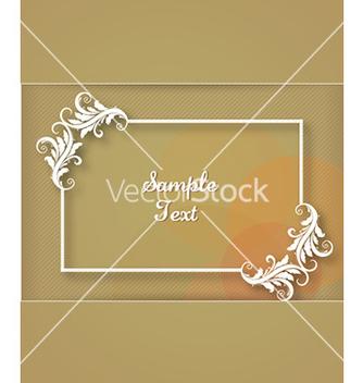 Free floral frame vector - Kostenloses vector #230385