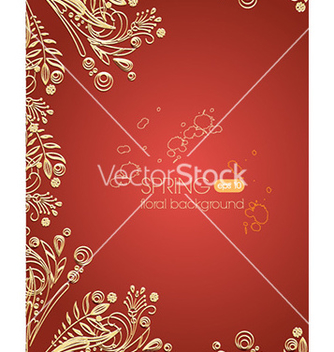 Free floral background vector - Kostenloses vector #230935