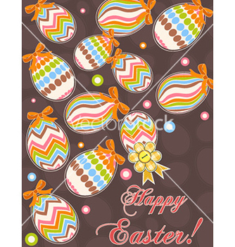 Free colorful eggs vector - Free vector #231205