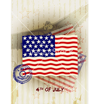 Free 4th of july background vector - Free vector #232025