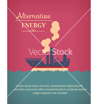 Free with ship vector - Kostenloses vector #232095