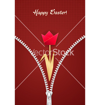 Free paper tulip vector - vector gratuit #232345