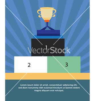 Free with trophy vector - Kostenloses vector #232455