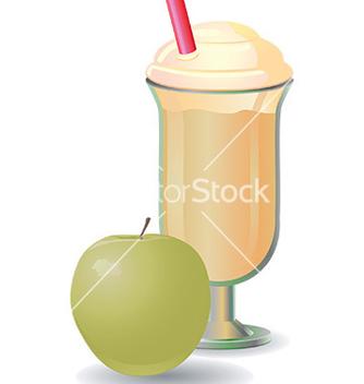 Free milkshake design vector - vector gratuit #232715