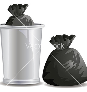 Free rubbish bags vector - Free vector #232745
