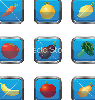 Free fruit icon vector - Kostenloses vector #232765