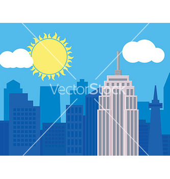 Free cityscape design vector - Free vector #232785