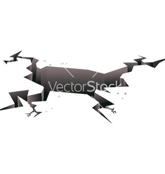 Free ground crack vector - vector gratuit #232825