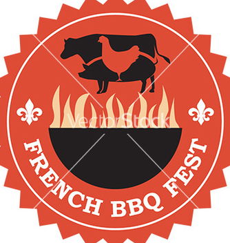 Free french bbq icon vector - vector #232955 gratis