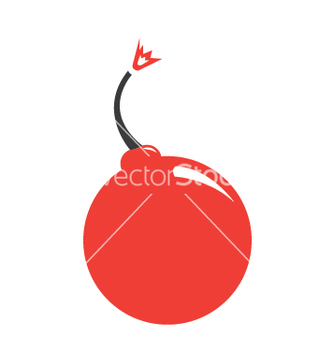 Free cute cherry bomb vector - Kostenloses vector #233105