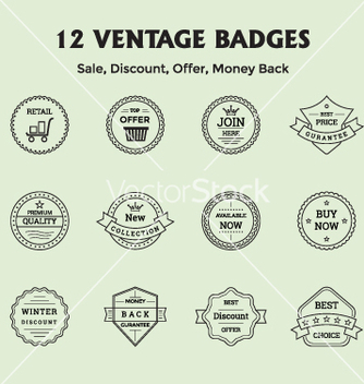 Free salediscountoffermoneyback vector - бесплатный vector #233135