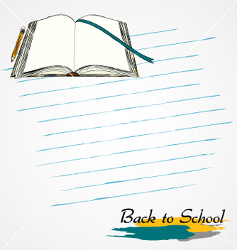 Free opened book vector - бесплатный vector #233145