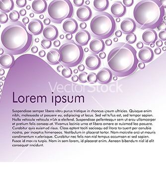 Free card for text with circles on a purple background vector - Free vector #233285
