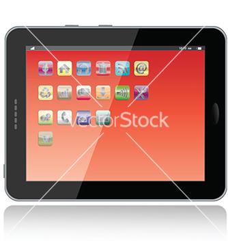 Free tablet vector - Kostenloses vector #233705