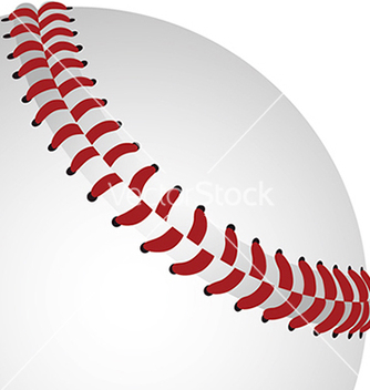 Free baseball closeup vector - бесплатный vector #233855