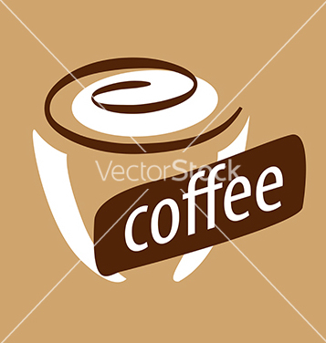 Free logo cup of coffee and cream vector - vector #233955 gratis
