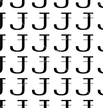 Free pattern letter j vector - vector #234385 gratis