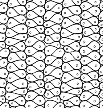 Free doodle abstract mesh seamless pattern vector - Free vector #235125