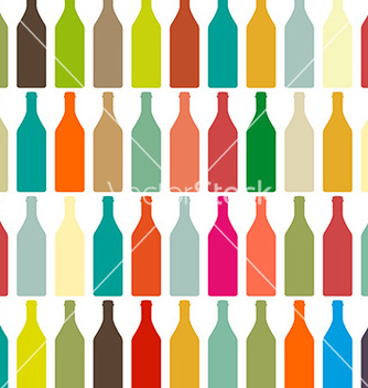Free background bottles vector - Free vector #235165