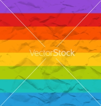 Free rainbow crumpled paper seamless pattern vector - Kostenloses vector #235275